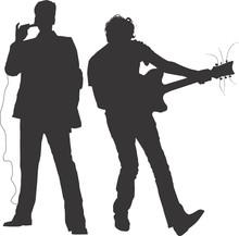Concert - Musicians - Silhouettes