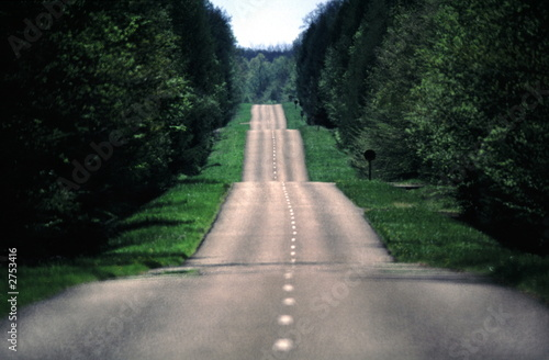 Fotografie, Obraz route infinie