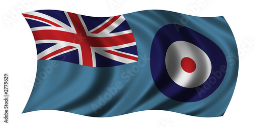 Canvas Print flag of the royal air force