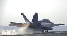 Super Hornet Catapult Shot