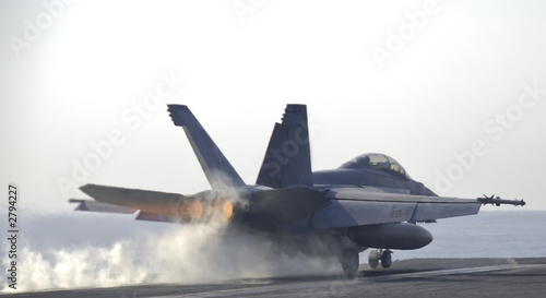 Fotografia  super hornet catapult shot