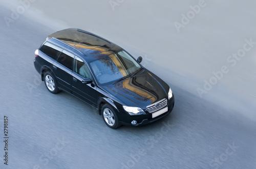 Photo  black luxury japanese car