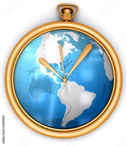 zloty-zegar-z-zawarta-w-srodku-na-tarczy-mapa-swiata