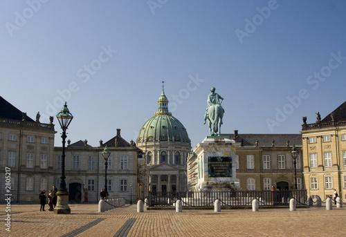 amalienborg castle Canvas Print