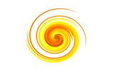 spirale jaune