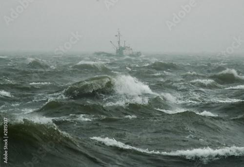 Staande foto Onweer windstärke 11