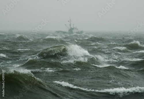 Foto op Aluminium Onweer windstärke 11