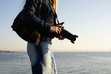 Young Attractive Female Photographer