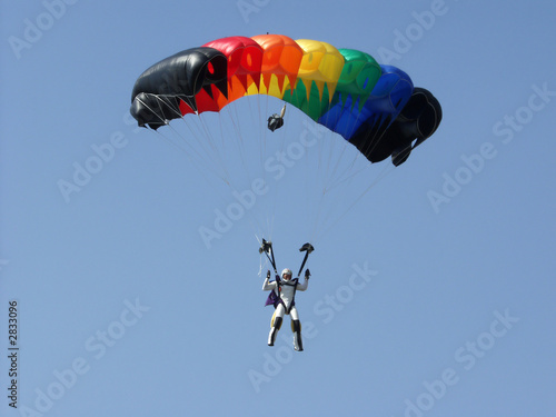 Obraz na plátně  parachutes