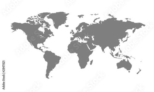 Photo Stands World Map weltkarte6