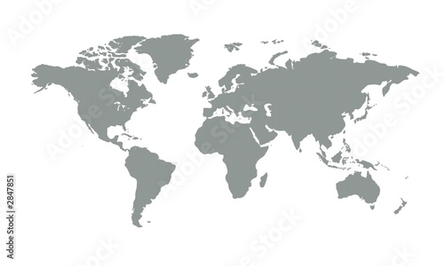 Photo Stands World Map weltkarte13