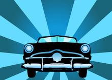 Oldtimer Car Vector Illustration