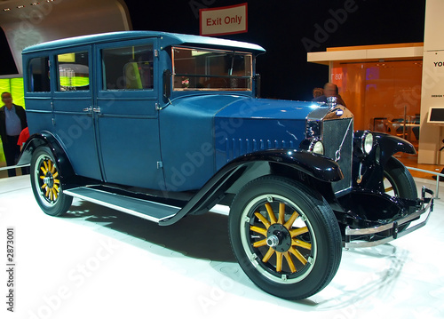 Tuinposter Snelle auto s international auto show