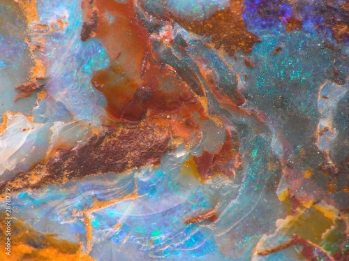 opalescent gemstone texture
