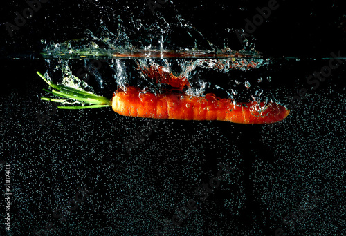 Printed kitchen splashbacks water splash