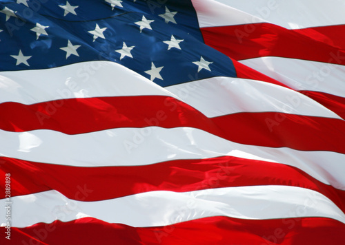 Photo Stands United States stars and stripes