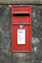 Post Box In A Wall