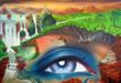 canvas print picture - ausblicke