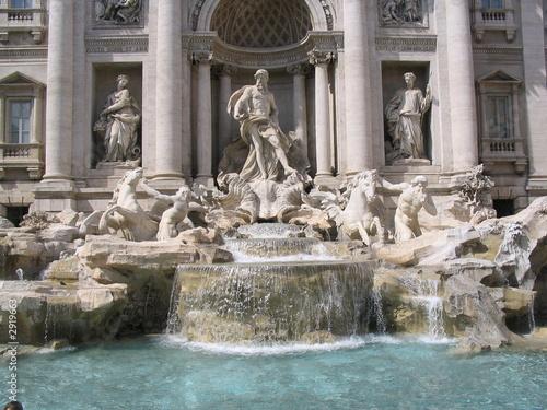 Foto-Kassettenrollo premium - trevi fountain - rome