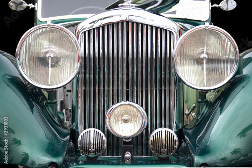 Spoed Foto op Canvas Vintage cars vintage car
