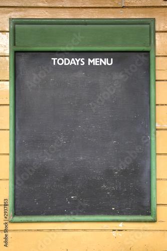 Fotomural today's menu