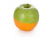 slice of orange and apple
