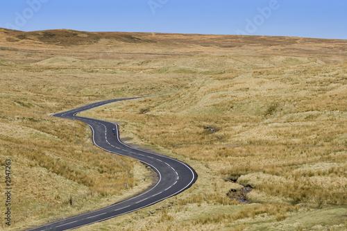 Fotografía moorland road