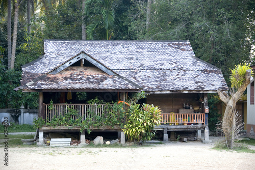 Fotografía  traditional malay house