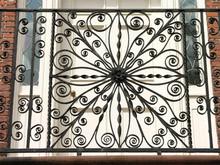 Wrought Iron Balcony With Door 2