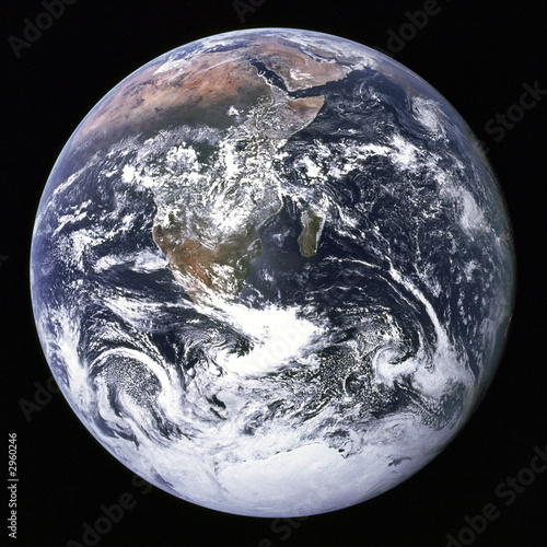 Deurstickers Nasa Earth from outer space.