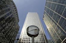 Canary Wharf Office Buildings,...