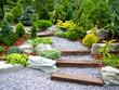 Leinwandbild Motiv designer garden