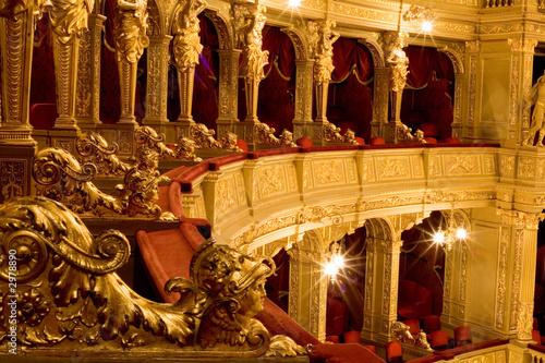 Obraz na płótnie inside an old theater