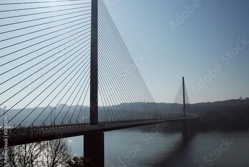 pont de brest Canvas Print