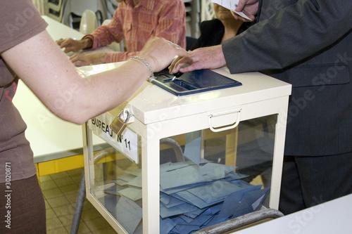 Photo  vote et élection