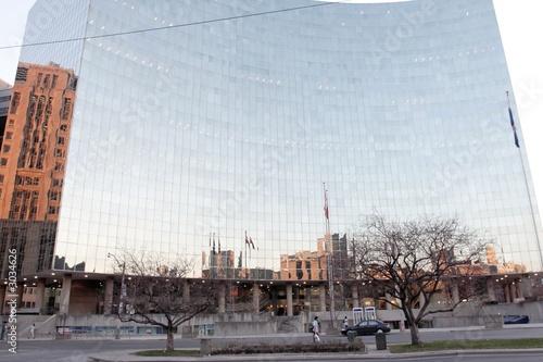 Foto op Plexiglas mirror wall