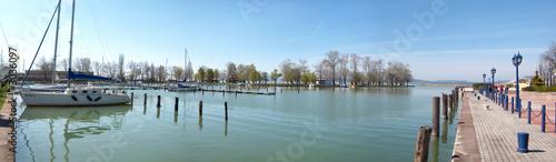 Photo  balaton harbor
