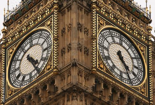 Photo big ben clockface