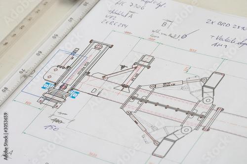 Valokuva  construction plan