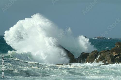 Carta da parati tempête en mer