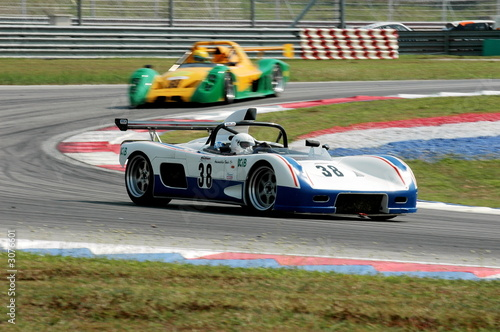 Foto op Plexiglas Motorsport racing cars at the track