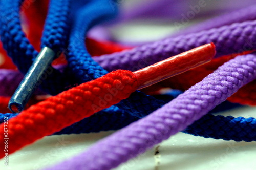 Fotomural  colorful laces