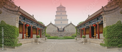 Photo sur Toile Xian chinese combat arena