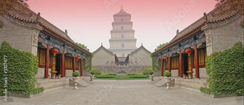 Cadres-photo bureau Xian chinese combat arena