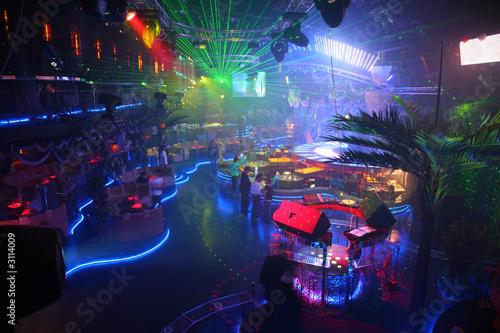 Fotografie, Obraz  night club interior