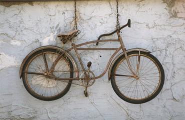 Naklejka altes fahrrad