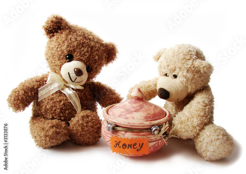 teddy-bears & honey #3133876