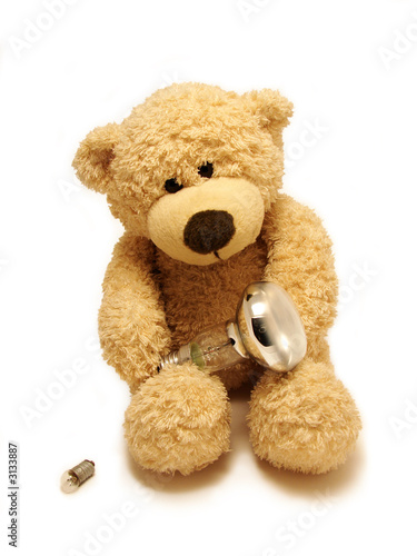 teddy-bear & bulbs #3133887
