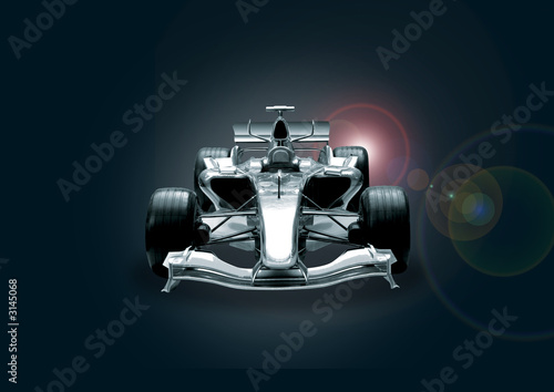 Deurstickers Snelle auto s formula one car