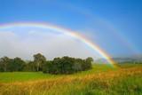 Fototapeta Tęcza - ranch rainbow